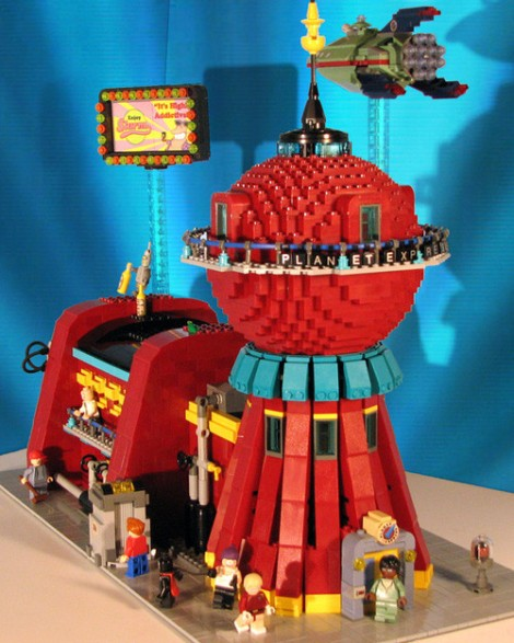 Futurama - Planet Express Lego