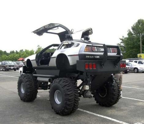 delorean-monster-truck