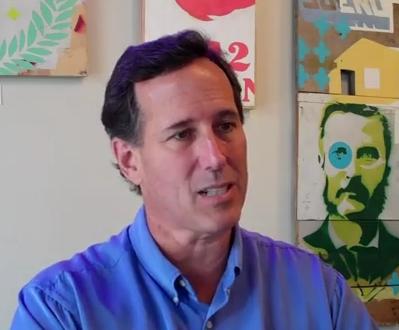 Rick Santorum - Personal Invader