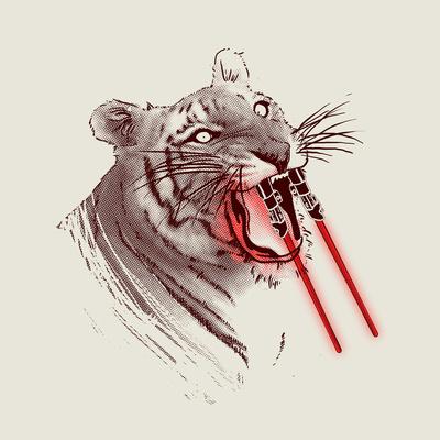 Lightsaber-Toothed Tiger
