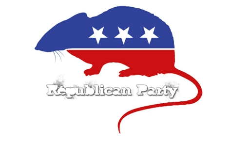 GOP Rat Logo
