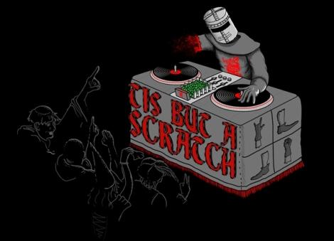 If the Black Knight was a DJ