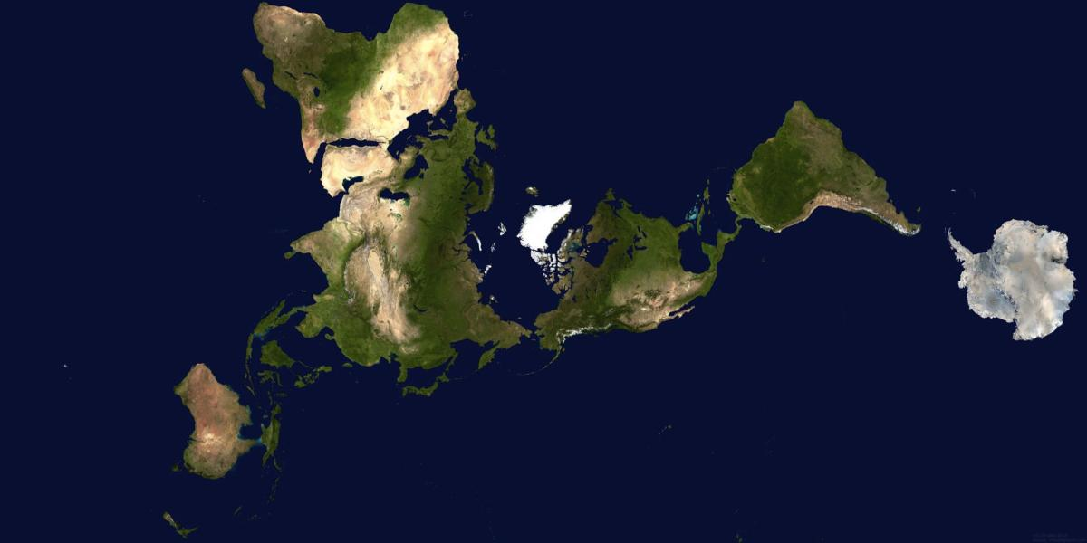 The Dymaxion Map [Cartography Image]