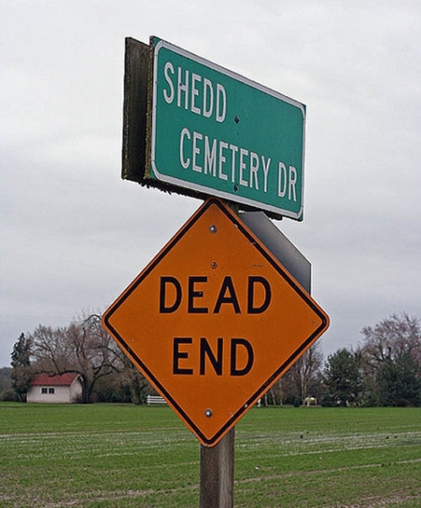 Literal Road Signs [Funny Pictures] | This Is The Story Of...
