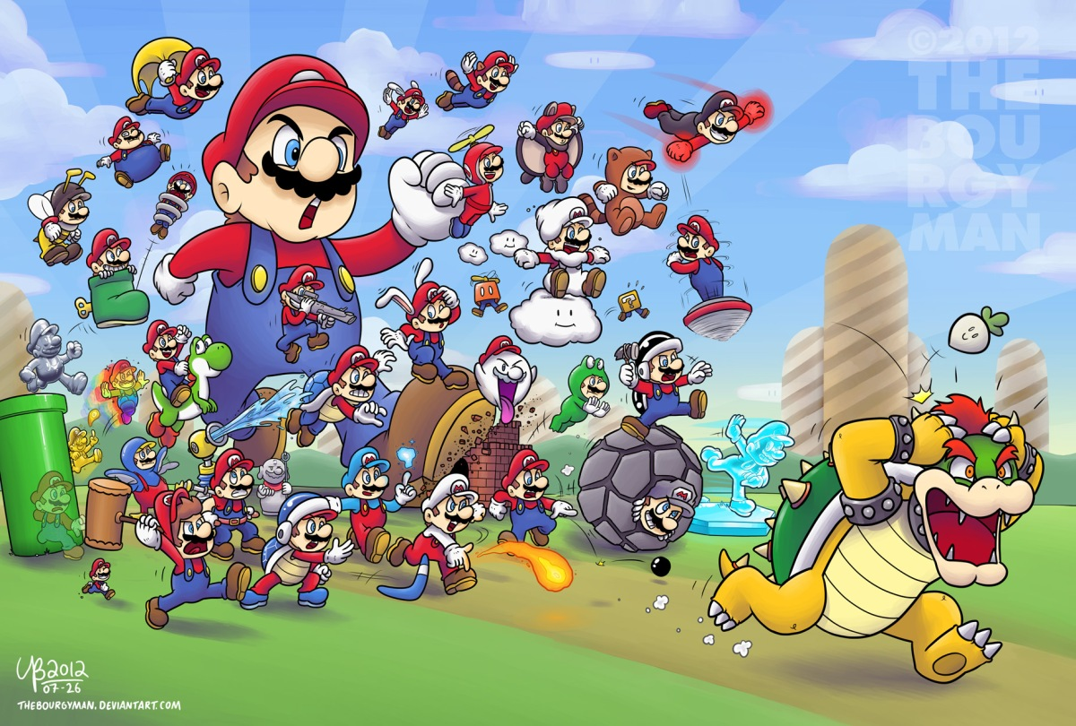 Mario: 31 Years of Power-Ups [Video Games]