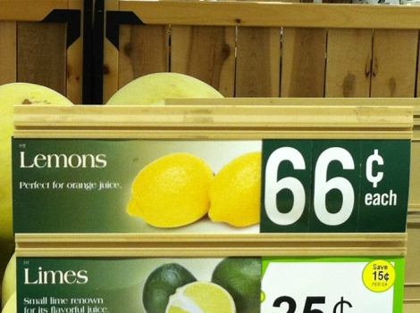 The Perfect Use for Lemons