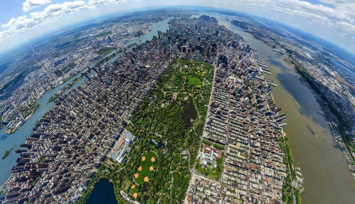 New York City's Central Park [Aerial Photo]