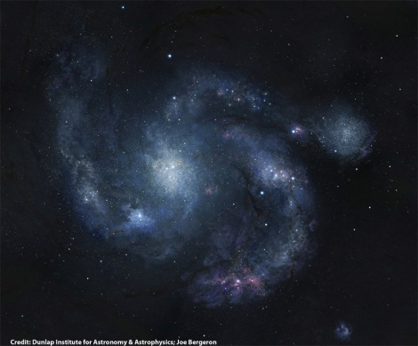 Ancient Spiral Galaxy Discovered by Hubble [Science and Technology]