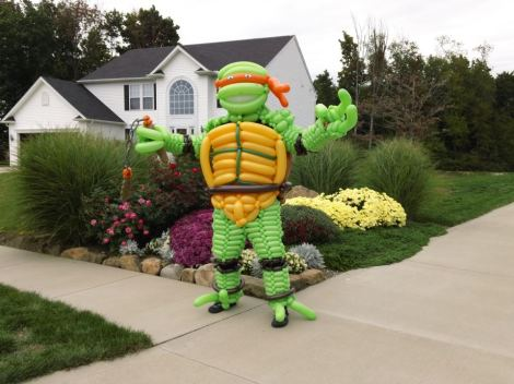 TMNT Balloon Costume