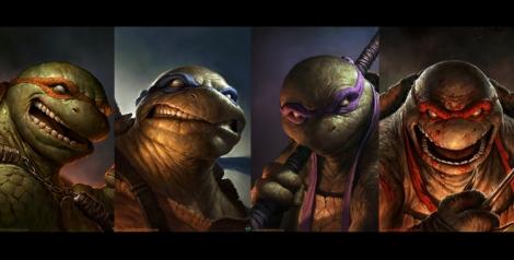 Hardcore Teenage Mutant Ninja Turtles [Character Art] - Featured