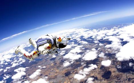 Skydiving from the Edge of Space [News]