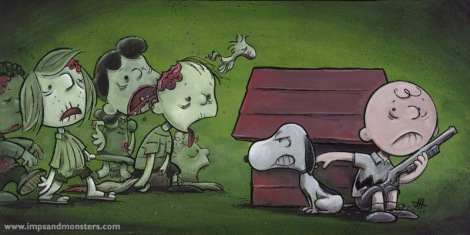 Zombies, Peanuts-Style