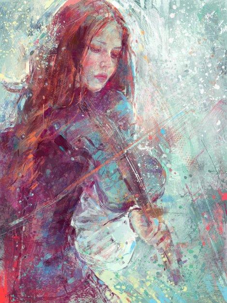 Winter Heart [Digital Art]
