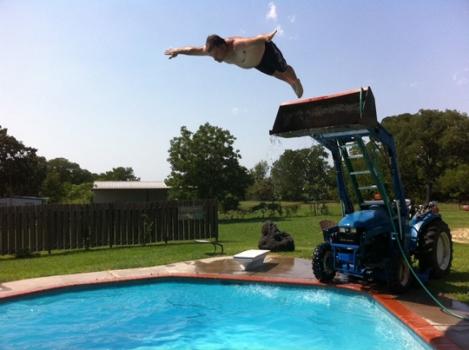 Diving board